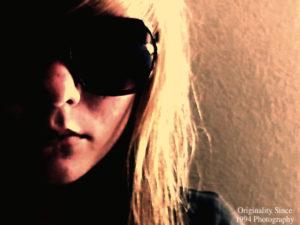 Spy in sunglasses
